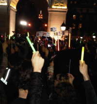 New York vigil
