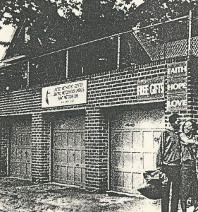 An old newspaper photo of the Far Rockaway mission